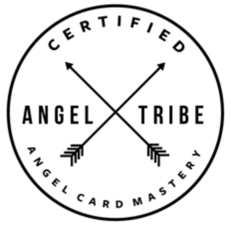 Angel card mastery tribe logo